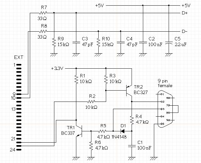 Schema Elettrico Usb : Schema elettrico hub usb fare di una mosca